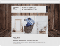 Scandinavian-decor Hospedagem de site JEX Host
